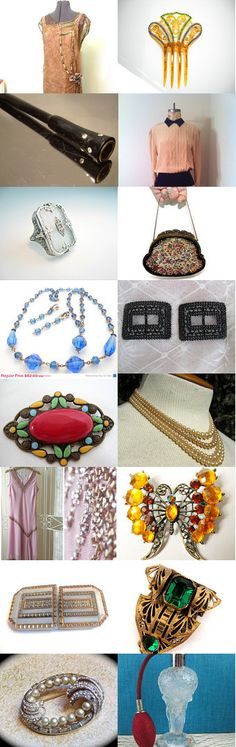 Devine Vintage Gift Ideas for Her - Love of Vintage - Etsy Team by Gayla and Al Esch on Etsy--Pinned with TreasuryPin.com