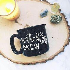 Witches Brew / Halloween / Autumn / Fall / Black Campfire Mug