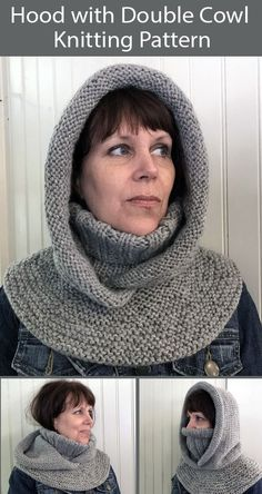 Easy Scarf Knitting Patterns, Knit Vest Pattern, Knitting Paterns, Diy Crochet And Knitting, Knitting Stitches, Knit Patterns, Knitting Projects, Loom Knitting, Knitted Hats