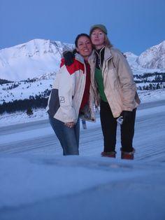 En route Tahoe to Mammoth w/ Kimmy!