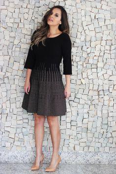 Look da Camis | Camila Gomes | Blog Sim, Senhorita | Jaqueta Maria Bonita Extra, Vestido Gig, Bolsa Nina Brico, Scarpin e sapatilha Zara