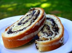 Poppyseed Roll - (makowiec) one of the most popular Polish cakes, for which poppy seeds are layered between sweet dough laden with almonds, orange peel and raisins.