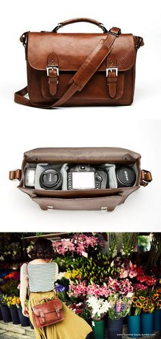 ONA brooklyn camera bag. I don't have a big enough camera right now to warrant it but someday maybe.