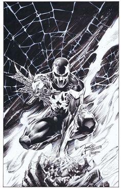 #Spiderman #2099 #Fan #Art. (Spider-man 2099: Philip Tan) By: Boysicat. (THE * 5 * STÅR * ÅWARD * OF: * AW YEAH, IT'S MAJOR ÅWESOMENESS!!!™) ÅÅÅ+