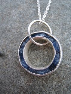 Claire Allain - jewellerywithlove - Nelson New Zealand claireallainjewellery.com Sapphires in Silver