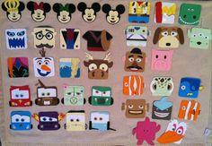 Disney/ Pixar door tags Fall 2014