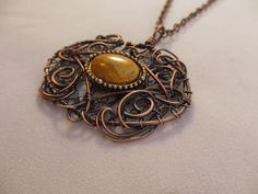 Upcycled Vintage Bracelet Copper Wire Wrapped by KarenOlwen, $65.00