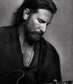 B  Lady Gaga & Bradley Cooper Bradley Cooper fans too, help us vote!  radley Cooper in A Star is Born hot AF Keanu Reeves, Gorgeous Men, Beautiful People, Eye Candy, Actrices Hollywood, A Star Is Born, Actors, Lady Gaga, Long Haired Men