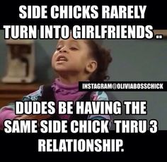 That ex of has been in 3 or 4 relationship as a side hoe. Funny True Quotes, Funny Memes, Hilarious, Naughty Quotes, Side Chick Humor, Funny Relationship, Picture Quotes, Breakup, I Laughed
