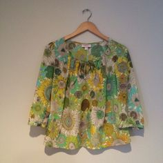 Sunflower Boho Keyhole Blouse 💟Outfit Inspiration: This bright and happy print can be worn to the office, work, interviews, dates or everyday. Pair with cute leggings or jeans and boots! 👰Help my fiancé and I save up for our wedding! 📦All purchases are shipped carefully and thoughtfully  🚭Smoke- free home ❗️Bundle to save on SHIPPING & TOTAL  💁Serious and reasonable offers only (no more  than 10% of listing price!)  ✅Suggested User, shop with confidence 🚫NO TRADES 🔁️Sharing is caring…