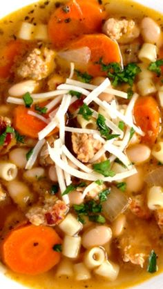 Italian Chicken Sausage Soup with White Beans Recipe