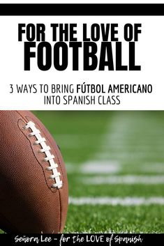 Spanish Numbers Activities! Are you ready for some football?! Want to get middle school Middle School Spanish, Elementary Spanish, Spanish Class, Elementary Schools, Spanish 1, College Football Top 25, College Football Rankings, Spanish Word Wall, Spanish Numbers