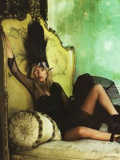 Happy Birthday to the wonderful Kate Moss! Boho Babe