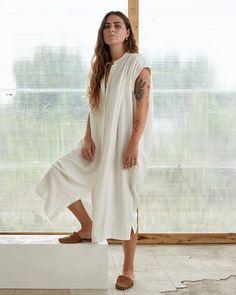 BEATRICE DRESS - QUARTZ – esby apparel The White Album, Cap Sleeves, Hemline, Quartz, White Dress, Arm, Tops, Silhouette, Ship