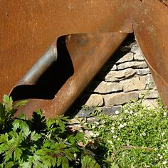 Ian Kitson fun way to peel back a layer....corten steel