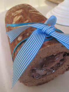 Ρολό κέικ !!!! - Evicita.gr Chocolate Desserts, Cooking, Cake, Kitchen, Chocolate Deserts, Kochen, Mudpie, Cheeseburger Paradise Pie, Brewing