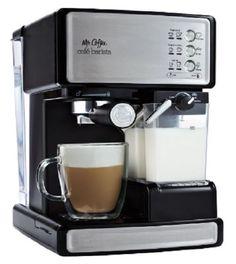 Mr. Coffee Espresso Machine Cappuccino Latte Maker Cafe Barista Brewing System #MrCoffee