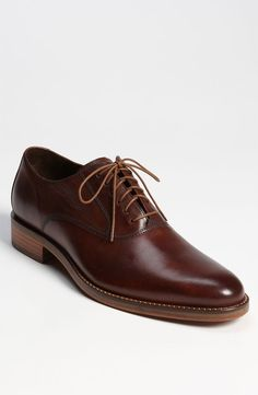 Dark Brown Leather Oxford Shoes by Cole Haan. Buy for $248 from Nordstrom