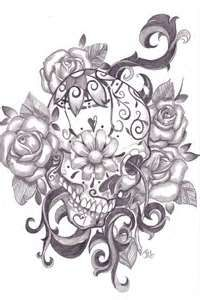 Purchase A Print Of This Sugar Skull Signed By The Artist  Click