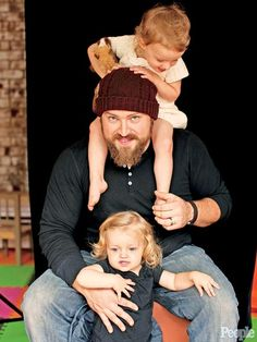 ZAC BROWN   photo | Zac Brown Band - has 4 daughters, Justice, Lucy, Georgia and Joni...Zac said he and his wife Shelly are going to keep having kids til they have a boy.