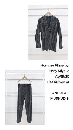 The atmosphere in ANDREAS MURKUDIS captures a freedom and tranquility that sets it apart from the usual, fast-paced retail world. Issey Miyake, Digital, Pants, Fashion, Trouser Pants, Moda, Trousers, Fashion Styles, Women Pants