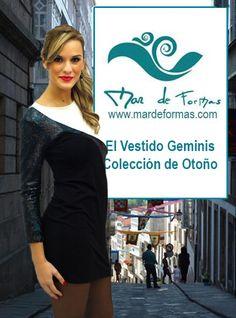 El Vestido Géminis en nuestra Colección de Otoño http://www.mardeformas.com/es/233-vestido-geminis.html