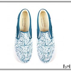 BUCKETFEET dream city. All-over bichromatique de Jimmy Sheehan (artiste new yorkais pour une marque chicagoane) / Two-coloured all-over made by Jimmy Sheehan (New Yorker artist for a Chigagoan brand). 1d1fa
