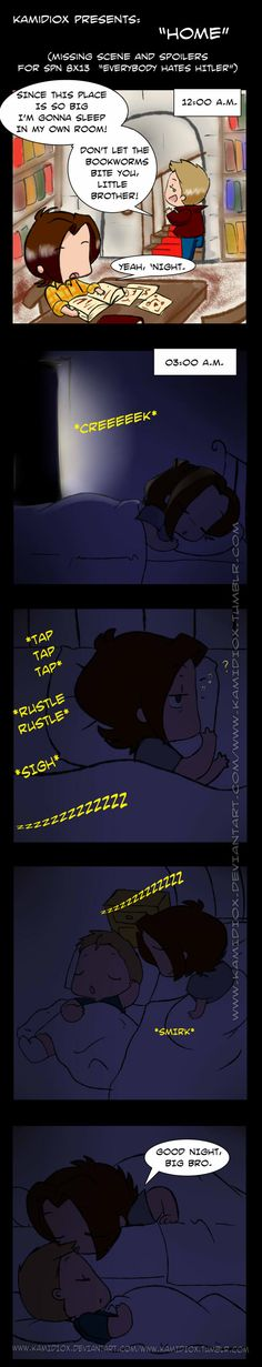Home (spoilers and missing scene for 8x13) by ~KamiDiox on deviantART