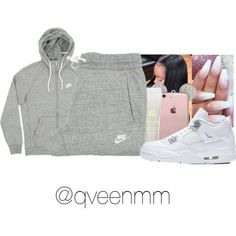 Untitled #569 by qveenmm on Polyvore featuring NIKE and Lancôme