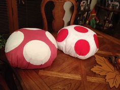 Picture of DIY Mario Kart Toad + Toadette Mushroom Hat