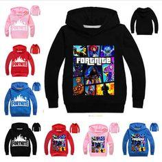 Kids Fornite Hoodie Boys Fortnight Gamer Girls UK 100-160cm Hot Xmas Gifts Child
