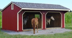 Run In Sheds Our run-ins are a perfect addition to any farm or property. They're great for a quick shelter or for horses that prefer to roam freely. They're also one of read article.