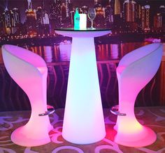 magic cube table and LED Coffee Tables bar chair tennis tables furniture hb-f161