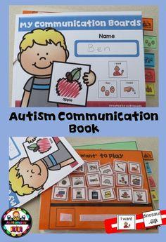 Communication Book for Autism Special needs 818e52eb674
