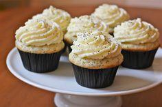 Caren Blair: Lemon Poppy Cupcakes