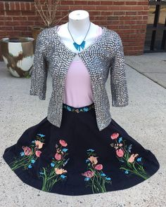 Spring has sprung at Indigo Avenue!  Elevenses skirt size 2 $34/Topshop cardigan size 6 $22.40/Lululemon tank top size S $24 #rva #richmond #anthro #style #fashion #consignment  #womensfashion #accessories #style #richmond #va #virginia #clothes #savings #deals #ootd #trends #trendy #shoplocal