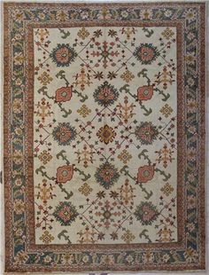 Beautiful Decorative Antique Turkish Ushak Carpets are unique products carrying valuable traditional messages from the depths of history to the present, from Central Asia to Anatolia, http://www.rugstoreonline.co.uk/prddet-8189-beautiful-decorative-antique-turkish-ushak-carpet