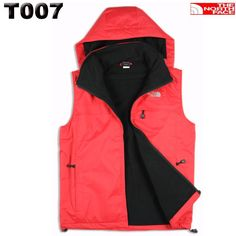 813616df500e The North Face Outlet Mens Summit Series Hoodie Vest Red Black