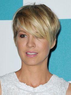 Jenna Elfman Pixie Haircuts