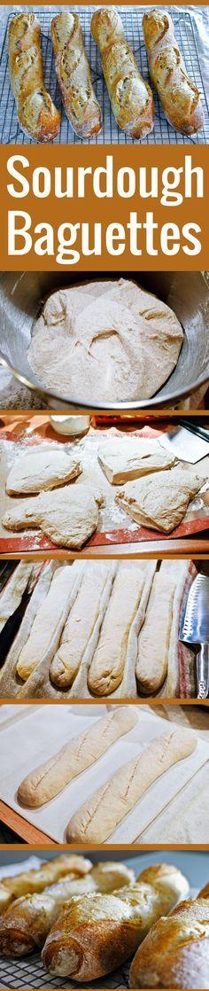 Faire vos propres baguettes à la maison, c'est un rêve ? Réalisez-le grâce à cette recette de baguette au levain moelleuse et croustillante !