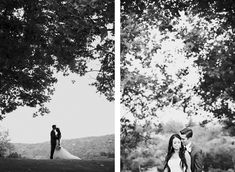 I love everything about this. Especially the photos of the groom's first sight of the bride. :)