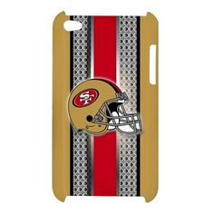 iPod 4 Helmet San Francisco 49ers Style Metal iPod Touch 4 4G 4th Case Cover