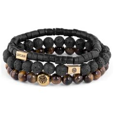 Buy Lucleon - Tiger's eye & Coconut Miro Bracelet for only Shop at Trendhim and get returns. We take pride in providing an excellent experience. Bracelets For Men, Beaded Bracelets, Leather Bracelets, Charm Bracelets, Friendship Bracelets, Leather Earrings, Casio Protrek, Tiger Eye Bracelet, Engraved Bracelet
