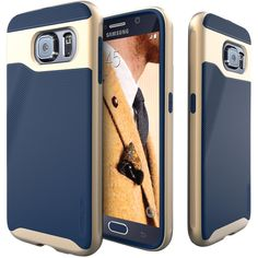 Caseology Samsung Galaxy S 6 Wavelength Series Case (navy Blue)