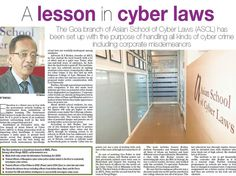 Asian School of Cyber Laws' Goa Office in the news! - www.asianlaws.org