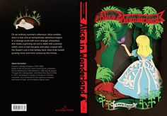 Alice in Wonderland Book Cover by Sophie Lin, via Behance