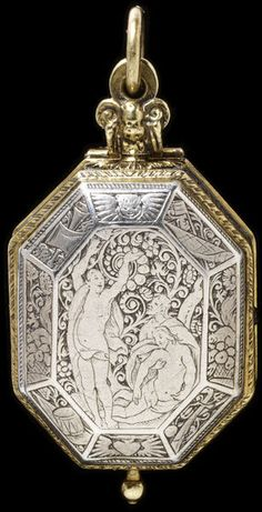 Place of origin: Strasbourg, France (made). Date: 1625 (made). Materials and Techniques: Engraved silver and gilt brass. Antique Watches, Antique Clocks, Vintage Watches, Old Pocket Watches, Pocket Watch Antique, Antique Jewelry, Silver Jewelry, Vintage Jewelry, Renaissance Jewelry