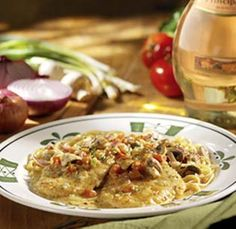Chicken Vino Bianco from Olive Garden...lots of other tasty recipes on this site too!