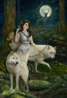 the-torch-bearer:  Artemis