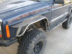 Homebrewed Fender Flares - NAXJA Forums -::- North American XJ Association